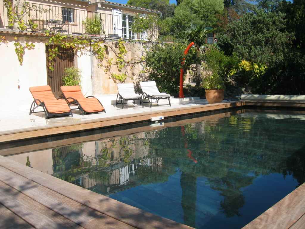 Villa to rent swimming private pool st raphaelfrance var 83 for Piscine saint raphael