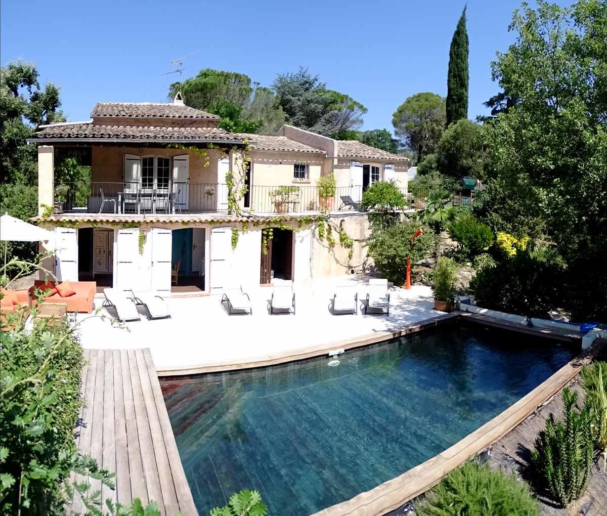 location villa climatise avec piscine valescure frjus saint raphael